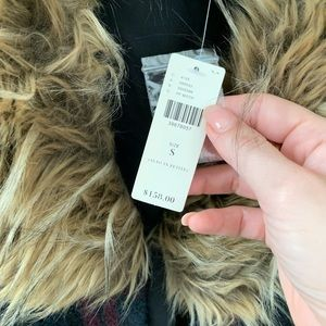 Anthropologie Tops - NEW w/ tag Anthropologie Yannah Wool Vest Fur